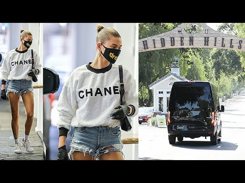 Hailey Baldwin Goes For Therapy, Then She And Justin Bieber Visit The Kardashians!