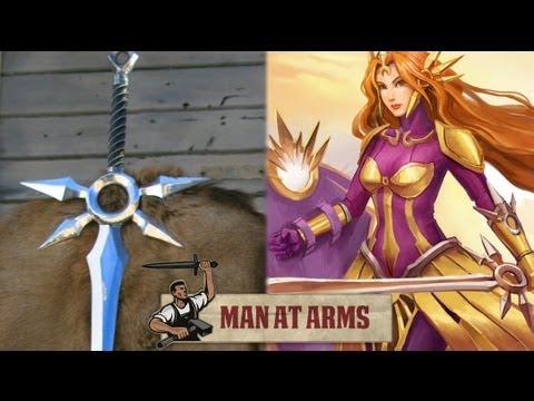 LOL太陽女神-雷歐娜的武器竟然被製造出來啦!