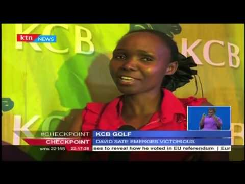 David Sate defies all odds to bag the KCB Corporate golf 2016