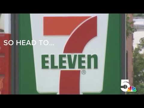 Free Slurpee day at 7-Eleven!