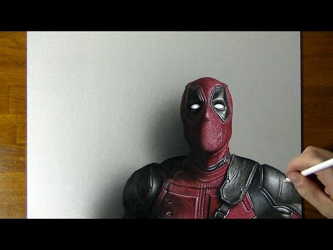 Huikeat piirustustaidot: Deadpool