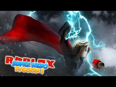 ROBLOX Adventure - ROPO IS THOR IN SUPERHERO TYCOON!!! (видео)