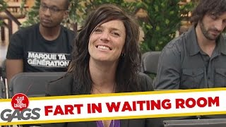 Old People Fart in Waiting Room !, Just for laughs, Just for laughs gags, Just for laughs 2015