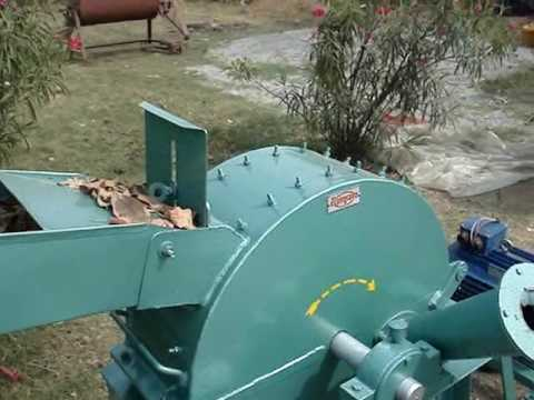 Rajkumar wood chipper & shredder machine