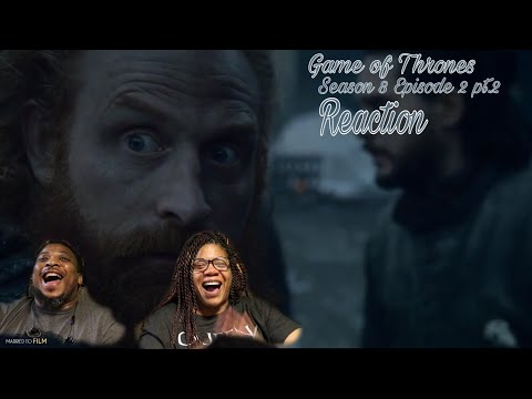 "Game Of Thrones | REACTION! Season 8 Episode 2 pt.2 ""A Knight of the Seven Kingdoms"""