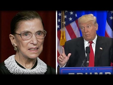 DECREPIT JUSTICE GINSBURG JUST STABBED TRUMP IN THE FACE AND AIDED AMERICA'S BIGGEST 'ENEMY' - SICK! (видео)