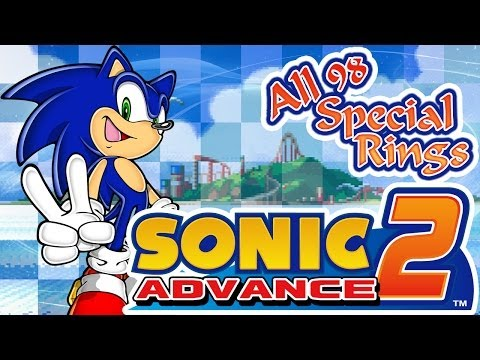 Sonic Advance 2 - All 98 Special Rings