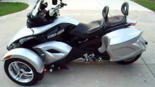 4. 2008 Can-Am Spyder GS Automatic Trike