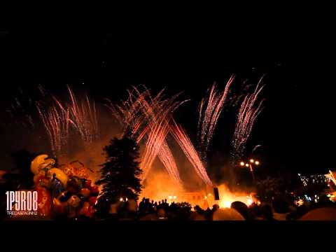 | HD | Trecastagni 2012: Vaccalluzzo | Pyromusical