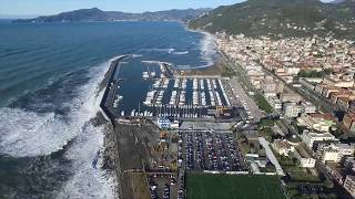 Chiavari Italy  city photos gallery : Sea storm Chiavari Italy - DJI Phantom 3 pro