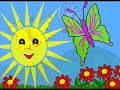 ثلاث فراشات ـ فيديو كليب للأطفال ـ أشواق كيال.wmv