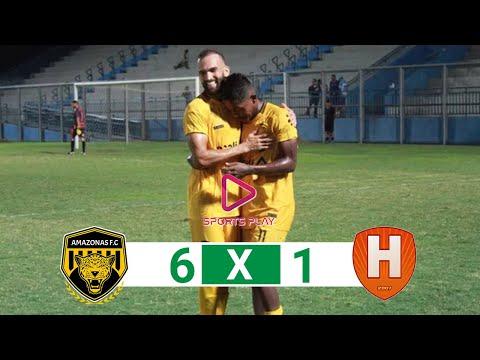 Amazonas FC 6x1 Holanda-AM