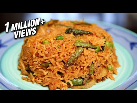 Masala Bhaat | Easy Masala Rice Recipe | Maharashtrian Food | Ruchi's Kitchen