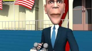 HILARIOUS VIDEO! Nobel Obama Becomes Noble Peacenik (3D Version) Spoof Satire Lampoon