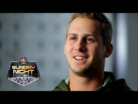 Video: Jared Goff on how he feeds off Sean McVay's energy | NFL | NBC Sports