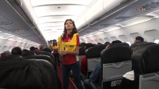 Video AirAsia awesome safety announcement @ AK1366 MP3, 3GP, MP4, WEBM, AVI, FLV Agustus 2018