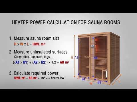 Heater Power (kW) Calculation