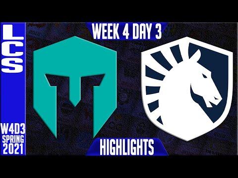 IMT vs TL Highlights | LCS Spring 2021 W4D3 | Immortals vs Team Liquid