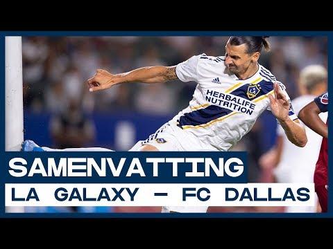 Video: HIGHLIGHTS | Zlatan leidt LA Galaxy langs Dallas