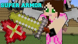 Minecraft: SUPER ARMOR & WEAPONS! (INSANE ITEMS AND POWERS!) Mod Showcase