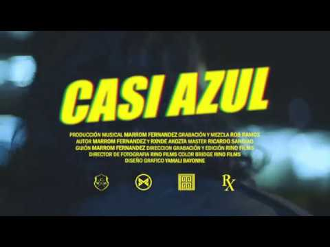 Videoclip de Rxnde Akozta y Marrom Fernandez - Casi azul