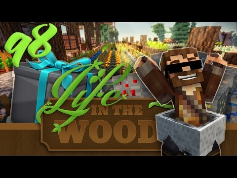 "Minecraft ""Life In The Woods 2"" - 1.7.10 - EP 98 - ""QUARRY ALTERNATIVE USING MIMICRY MOD!"""