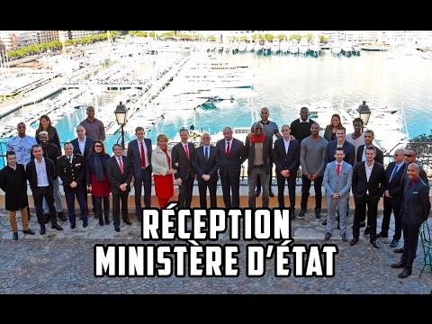Réception par S.E. M le Ministre d'Etat