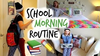 School Morning Routine | Fall 2014! | Lindsey Hughes - YouTube