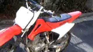 7. 2004 Honda CRF150F