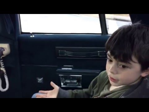 Inside Kid Geniuses Limo...
