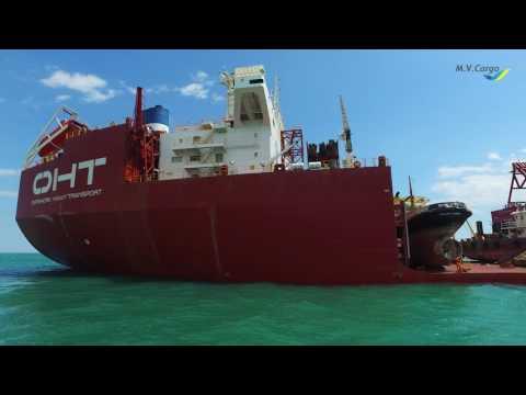 Dredging fleet CHEC arrived to Yuzhny port