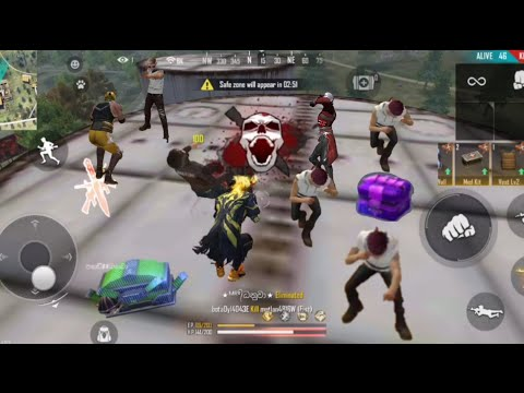 Garena Frre Fire Factory dangerous gameplay😱/handfawar only.#Freefire#DMhasitha#factery#fistfight