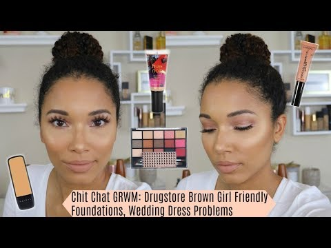 Chit Chat GRWM: New Foundations, Wedding Dress Problems