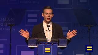 Video Adam Rippon Receives HRC Visibility Award, Presented by Gus Kenworthy MP3, 3GP, MP4, WEBM, AVI, FLV September 2018