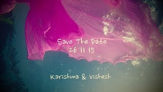 Underwater Proposal (Save The Date) | WeddingNama | Karishma & Vishesh