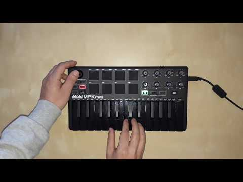 Yves LaRock - Rise Up (cover Akai MPK Mini)