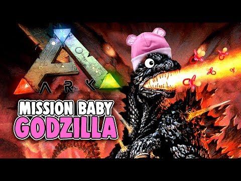ARK Survival Evolved Ragnarok Deutsch - Mission Baby Godzilla