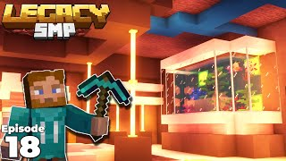Legacy SMP : Diamond Pickaxe Bunker is COMPLETE : Minecraft 1.15 Survival