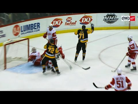 Video: Jimmy Howard helpless as Evgeni Malkin drives 18th goal into back of net