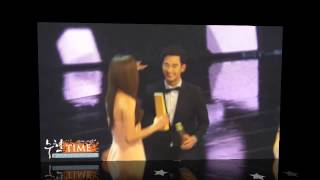 Download Video Kim Soo Hyun & Jun Ji Hyun ~ Sweet Moments Part 2 @ 50th Baeksang Art Award 2014 MP3 3GP MP4