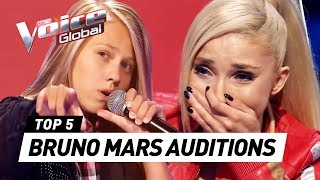 Video BEST BRUNO MARS Blind Auditions in The Voice Kids MP3, 3GP, MP4, WEBM, AVI, FLV September 2019
