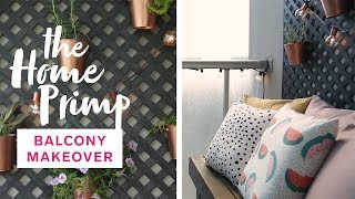Small Condo Balcony Gets A Major Makeover On A Budget | The Home Primp