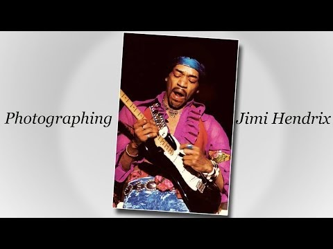 Robert Knight Photographs of Jimi Hendrix