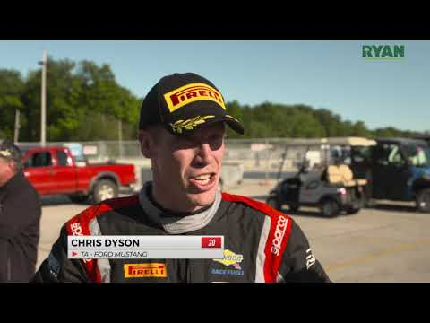Dyson Edges Out Francis for Trans Am Pole at Road America
