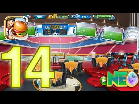 Cooking Fever: Gameplay Walkthrough Part 14 - Sports Bar Level 26 - 30 (iOS, Android)