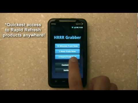 Video of Rapid Refresh Grabber
