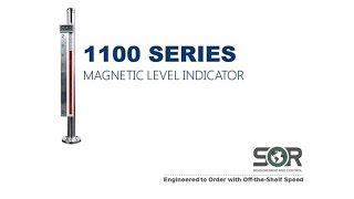 1100 Series Magnetic Level Indicator