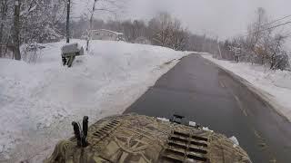 2. Argo 6x6 2 feet of snow