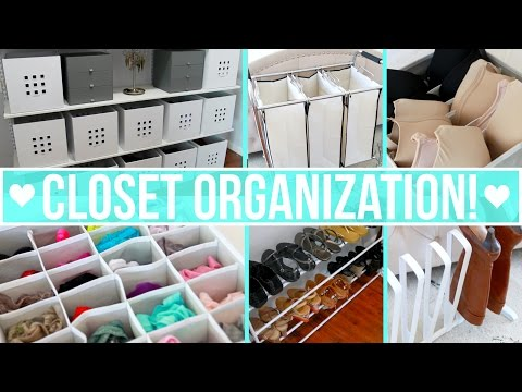 How to organize shoes in closet and wardrobes