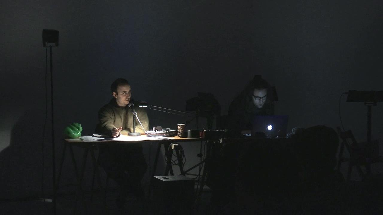 'Anatomy of a Paradox' in Performance-abend und konferenz WORTSAMPLER - Audio-Texts Sampling Found-Sounds, April 2015.
